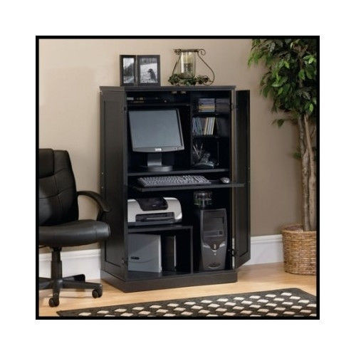 puter Armoire Hutch fice Home Desk Workstation